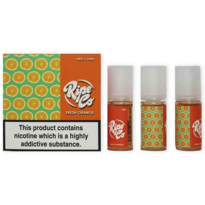 Fresh Orange 3mg 30ml e juice