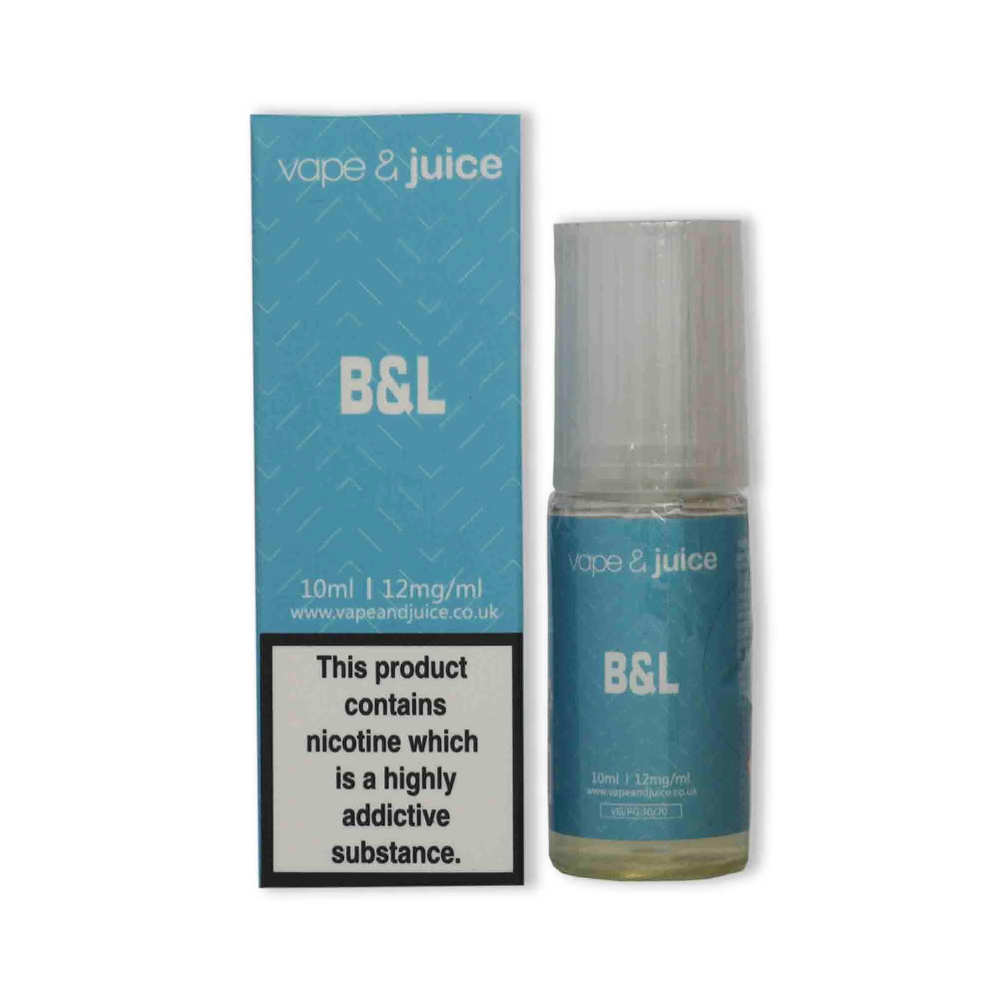 Vape & Juice Basics - B&L Tobacco 10ml