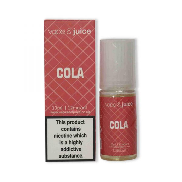 Cola 10ml e juice