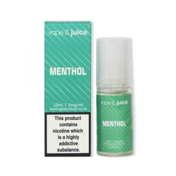 Menthol 10ml e juice