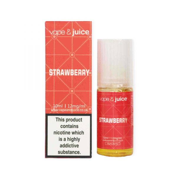 Strawberry 10ml e juice