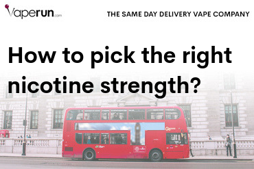 how to pick the right nicotine strength for vape juice