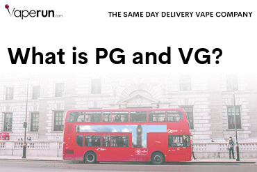 what is PG and VG in vape juice