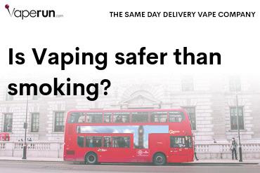 is vaping safer than smoking